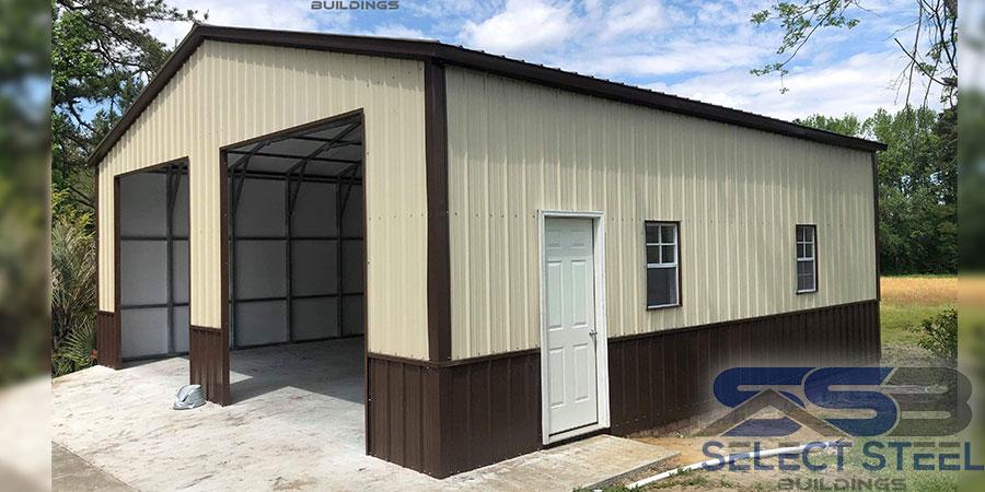 26x30x12-Steel-Garage-Building