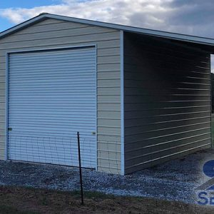 42x30-Steel-Garage-With-Lean-Tos